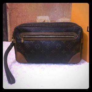 AUTH Louis Vuitton Marly Dragonne